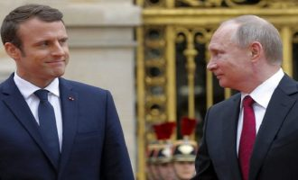 Tι ζήτησε ο Μακρόν από τον Πούτιν μετά την επανεκλογή του