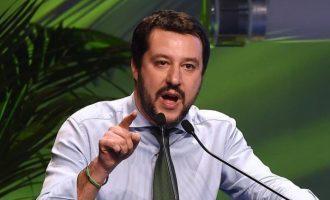 Ματέο Σαλβίνι: Να σταματήσει η απόβαση μεταναστών στην Ιταλία – Κίνδυνος από τζιχαντιστές
