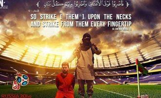 To Ισλαμικό Κράτος απειλεί ξανά τον Μέσι ενόψει του Μουντιάλ της Ρωσίας