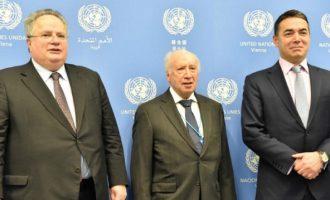 Τι είπε ο Νίμιτς για το Σκοπιανό μετά τη συνάντηση με Κοτζιά και Ντιμιτρόφ