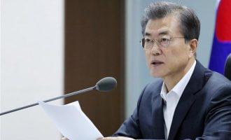 Εφικτή μια τριμερής Σύνοδος με ΗΠΑ-Βόρεια Κορέα, λέει ο Μουν Τζε-ιν