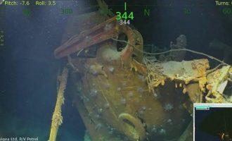 O συνιδρυτής της Microsoft βρήκε πλοίο που βυθίστηκε το Β' Παγκόσμιο Πόλεμο (βίντεο)
