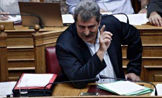 Πολάκης προς Μητσοτάκη: Dear Kyriakos… don't forget