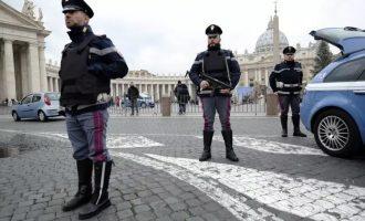 10.000 αστυνομικοί στους δρόμους της Ρώμης για να αποτρέψουν πιθανή τζιχαντιστική επίθεση