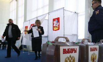 Όχι ότι ξαφνιάζεται κανείς αλλά… «χιονίζει» στις κάλπες στη Ρωσία