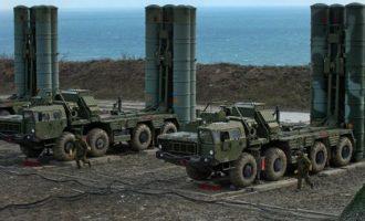 """""""Μπίζνες"""" Πούτιν με Ερντογάν: Προτεραιότητα η παράδοση των πυραύλων S-400 στην Τουρκία"""