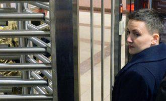 Συνελήφθη για υποκίνηση πραξικοπήματος η Ουκρανή βουλευτής Ναντιέζντα Σάφτσνεκο
