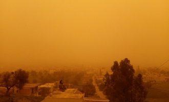 Απίστευτο: Η αφρικανική σκόνη «έπνιξε» την Κρήτη (φωτο+βίντεο)