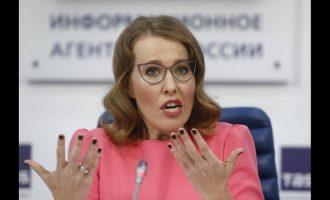 «Πόρνη και βρωμερή μάγισσα» αποκάλεσε ο Ρώσος εθνικιστής Ζιρινόφσκι την Σομπτσάκ (βίντεο)
