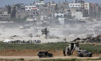 Ένας Παλαιστίνιος νεκρός από οβίδα στη Λωρίδα της Γάζας