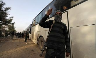 Διορία 72 ωρών στους τελευταίους ισλαμιστές να εγκαταλείψουν την Ανατολική Γούτα