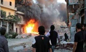 Νεκροί 22 άμαχοι από αεροπορικό βομβαρδισμό σε πόλη της Αλ Κάιντα στη βορειοδυτική Συρία