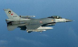 Έπεσε τουρκικό F-16 κοντά στην Καππαδοκία – Νεκρός ο πιλότος