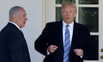 Τραμπ: Φανταστικός σύμμαχος και φίλος ο Νετανιάχου – Θα φέρει ειρήνη στη Μέση Ανατολή