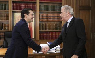 Τι συζήτησαν στο Μαξίμου Τσίπρας και Αβραμόπουλος