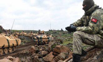Ο Ερντογάν απειλεί τους Αμερικανούς ότι θα επιτεθεί ανατολικά του Ευφράτη εάν δεν φύγουν οι YPG από τη Μανμπίτζ