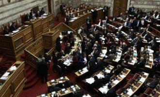 Στις 18:00 η συζήτηση της πρότασης δυσπιστίας στη Βουλή