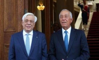 Στην Αθήνα ο Πρόεδρος της Πορτογαλίας – Συναντήσεις με Παυλόπουλο-Τσίπρα-Βούτση