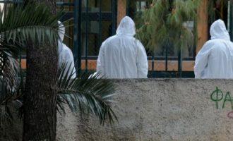 ΕΛΑΣ: Βρέθηκαν υπολείμματα βόμβας στα δικαστήρια της Ευελπίδων