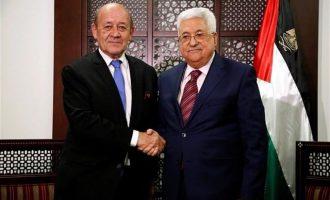 Τι είπε ο Λεντριάν μετά την συνάντηση με τον Μαχμούντ Αμπάς στη Ραμάλα