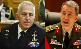 Τι είπε ο Αρχηγός ΓΕΕΘΑ στον Τούρκο ομόλογό του