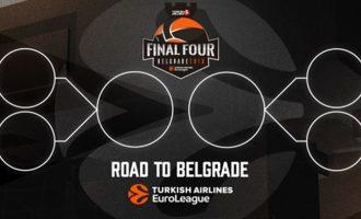 Το πλήρες πρόγραμμα των πλέι οφ στην Euroleague – Πότε παίζουν Ολυμπιακός και Παναθηναϊκός