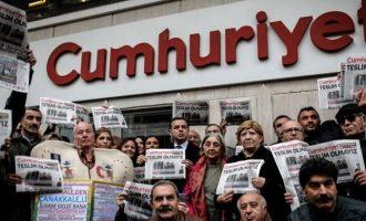 Δεκαπέντε δημοσιογράφοι της Cumhuriyet καταδικάστηκαν για τρομοκρατία