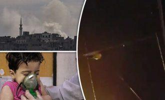 Δαμασκός: «Δεχθήκαμε πυραυλική επίθεση» – Λευκός Οίκος: «Δεν είμαστε εμείς»