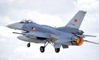 Νέα πρόκληση: Χαμηλή πτήση από τουρκικό F-16 πάνω από το Φαρμακονήσι