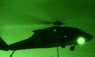 Επεισόδιο στη Ρω: Το τουρκικό ελικόπτερο πετούσε με τα φώτα σβηστά