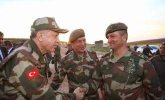 Το παρασκήνιο της εμφάνισης Ερντογάν με στολή παραλλαγής – Τι αποκαλύπτει δημοσιογράφος