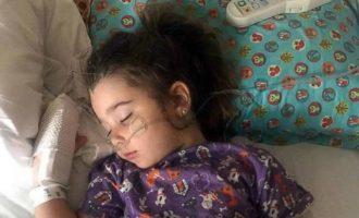 4χρονη κατάπιε νερό πισίνας αλλά κινδύνεψε να πνιγεί δύο μέρες μετά!
