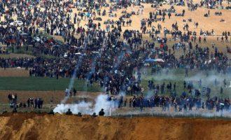 Πρεσβεία Ισραήλ: Ισλαμιστές τρομοκράτες της Χαμάς υποκινούν σε επιθέσεις στα σύνορά μας με τη Γάζα