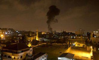 Το Ισραήλ βομβάρδισε στόχους της ισλαμιστικής Χαμάς στη Γάζα