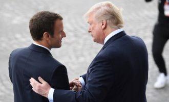 Μακρόν και Τραμπ θα συζητήσουν το θέμα του Ιράν στο περιθώριο των G20