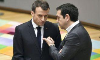 Μακρόν: Θα υποστηρίξω την Ελλάδα εάν απειληθεί από την Τουρκία