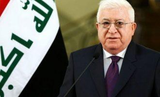 Πρόεδρος Ιράκ: Η Τουρκία δεν δικαιούται να εισβάλει σε ιρακινό έδαφος