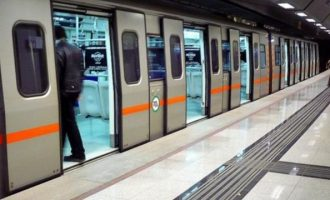 Τηλεφώνημα για βόμβα στους σταθμούς του Μετρό «Αιγάλεω» και «Αγία Μαρίνα»