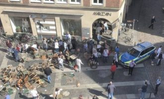 Αυτοκίνητο έπεσε σε καφετέρια σε γερμανική πόλη – Νεκροί και τραυματίες