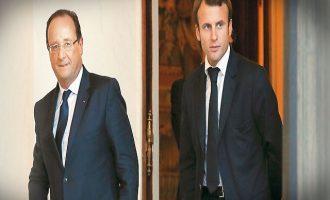 Ολάντ σε Μακρόν: Συμμαζέψου, οι Γάλλοι βασιλείς έχασαν το κεφάλι τους στη γκιλοτίνα