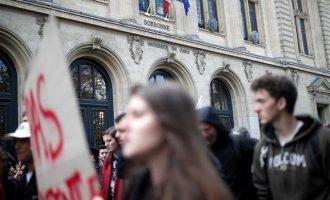 Πανεπιστημιακός πρόεδρος ζητά επέμβαση αστυνομίας στη Σορβόννη