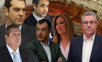 Στην Τήλο για το Πάσχα ο Τσίπρας – Πού θα πάνε οι υπόλοιποι πολιτικοί αρχηγοί