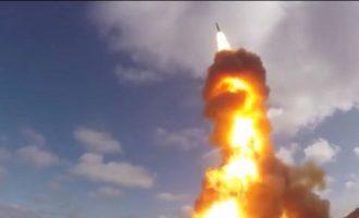 Η Ρωσία δοκίμασε το νέο πυραυλικό της σύστημα – Μπορεί να καταστρέψει νατοϊκούς δορυφόρους (βίντεο)