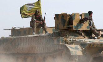 Κάτοικοι της Χατζίν στην ανατολική Συρία καλούν τις SDF να τους απελευθερώσουν από το Ισλαμικό Κράτος