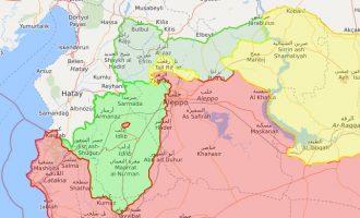 Προχωρά ταχύτατα η δημιουργία τουρκικού ψευδοκράτους στη βορειοδυτική Συρία και κανείς δεν μιλά