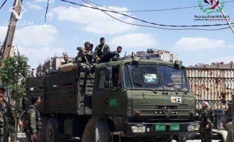 Επόμενος στόχος του συριακού στρατού η συνοικία Γιάρμουκ της Δαμασκού που κατέχει το Ισλαμικό Κράτος