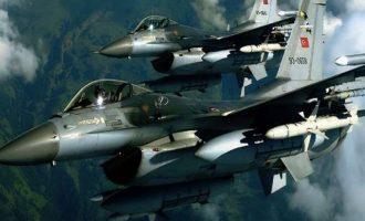 Oπλισμένα τουρκικά  F16 έκαναν 31 παραβιάσεις στο Αιγαίο
