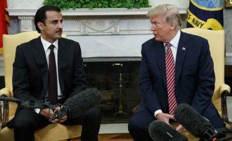 Τραμπ: Εξαιρετικές οι σχέσεις με Κατάρ – Εμίρης Κατάρ:  Εγκληματίας πολέμου ο Άσαντ