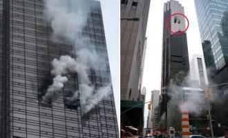 Πυρκαγιά στον Πύργο Τραμπ στη Νέα Υόρκη – Νεκρός ένας 67χρονος