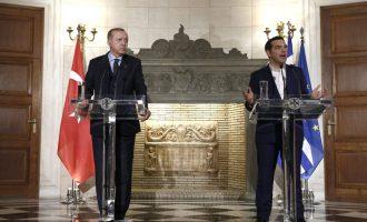 Γιατί ο Τσίπρας έγινε έξαλλος με τον «σουλτάνο» Ερντογάν – Το παρασκήνιο της αντεπίθεσης